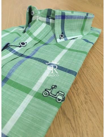 Camisa Cool Bike 442 VERDE